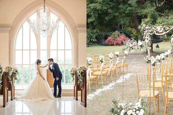 不用出國也能辦絕美戶外婚禮!這幾個「西洋風」婚宴場地實在太浪漫了!