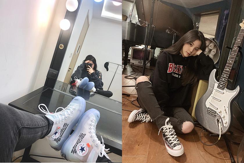 Nana Ou-Yang Converse Sneaker Style Collection