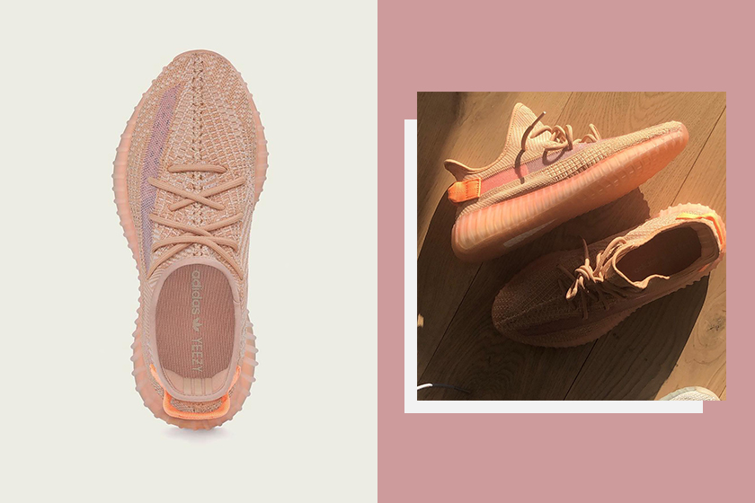 Yeezy Boost 350 V2 Clay coral Pink Color