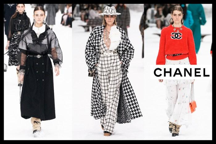 #PFW:以一場雪山仙境作最後道別,老佛爺 Chanel 告別系列 73 個造型足本看!