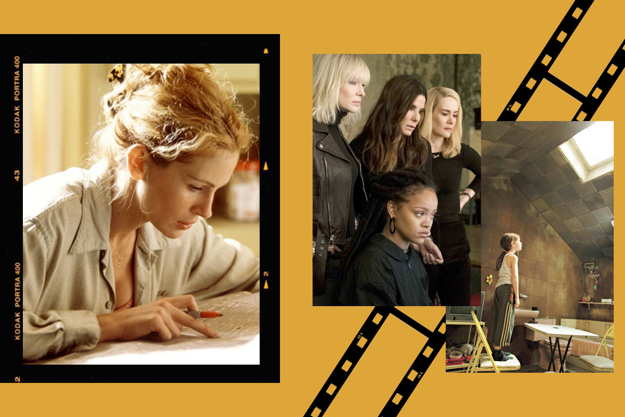 International Women Day Movies feminism Bend It Like Beckham Mulan  Room  Erin Brockovich Ocean's 8  The Princess Diaries 2: Royal Engagement Women Characters girls power