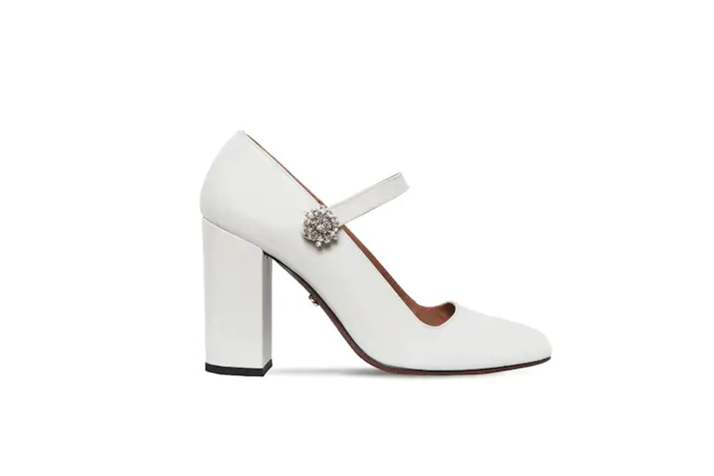 Alexa Chung 105mm Patent Leather Mary Jane Pumps