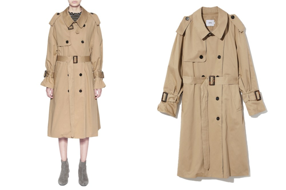 AMONG Trench Coat