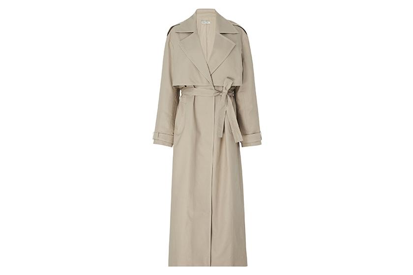 Anna Quan Inez Cotton-Twill Trench Coat