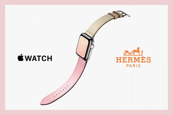 Hermès 推出四款粉色 Apple Watch 表帶,女生看到一定心動!