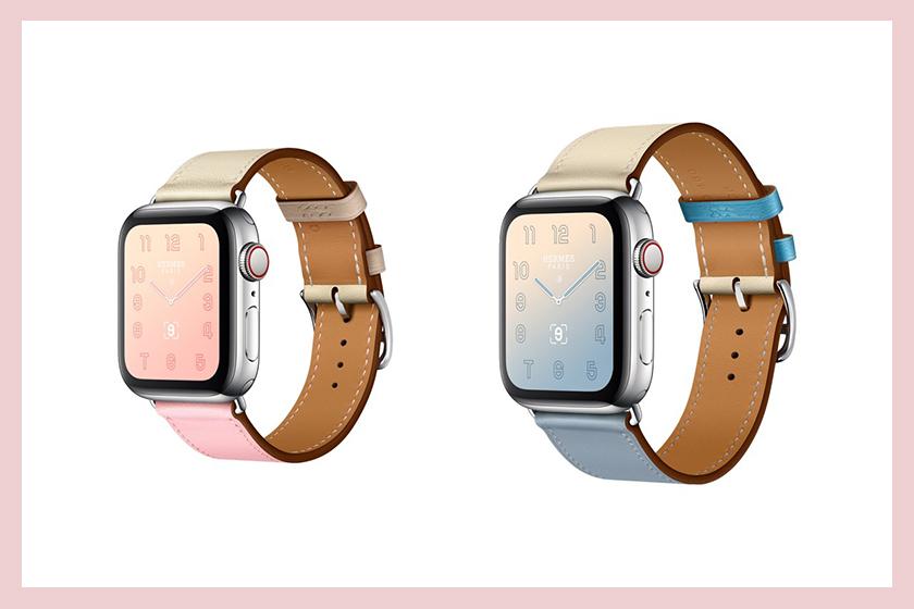 Apple Watch Hermès 2019 推出四款粉色表帶,玫瑰櫻」兩種全新配色 - Ciaolady Beauty Diary.