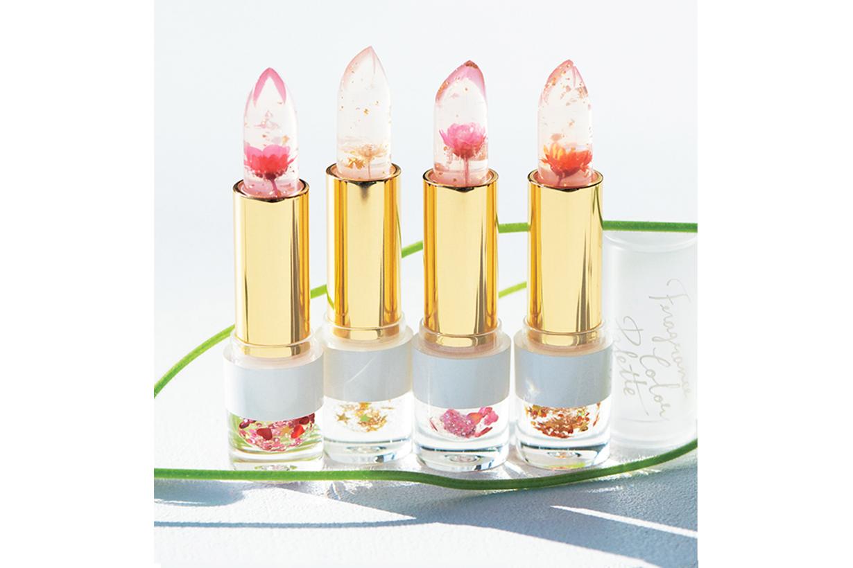 afternoon tea living fragrance color palette lip tint flower