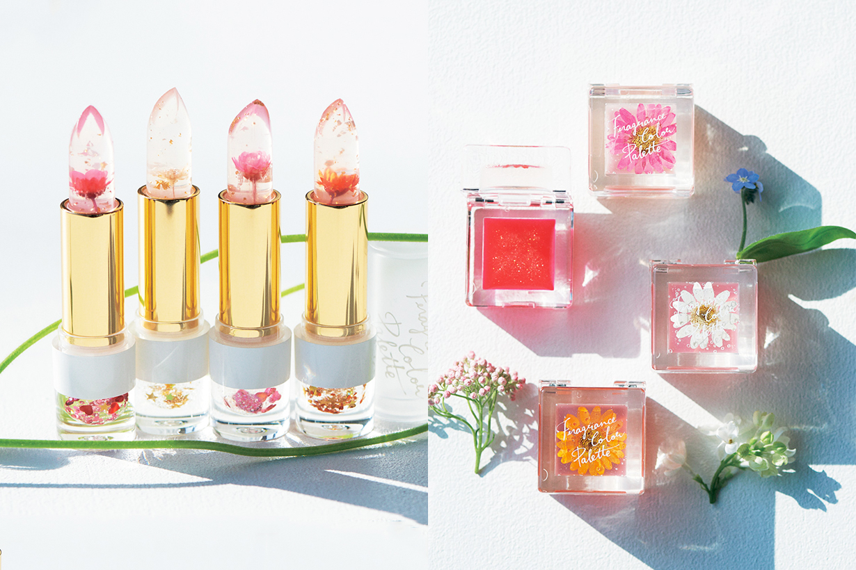 afternoon tea living fragrance color palette lip tint flower