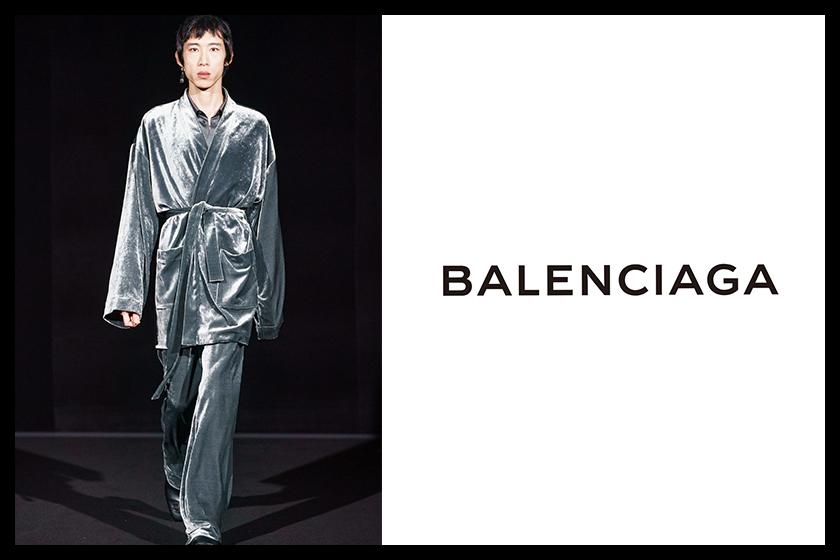 Balenciaga FW19 runway hong kong model leung pak ting