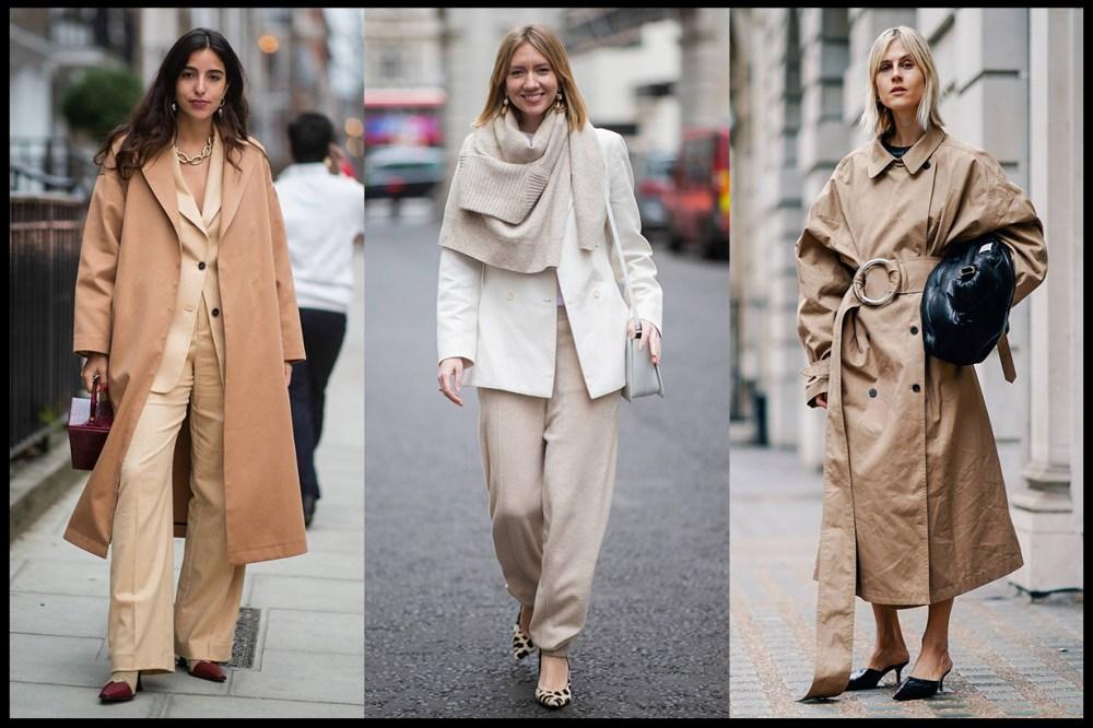 Beige Fashion Street Style 2019