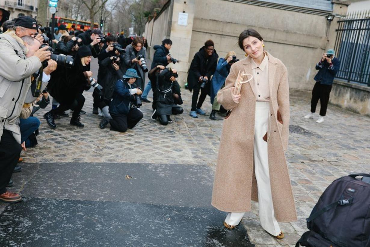 Beige Ouftits Street Style Paris Fashion Week 2019