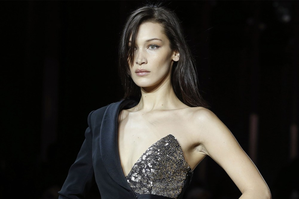 Bella Hadid Walked Redemption's Fall 2019 Show at Paris Fashion Week With a 101-Degree Fever