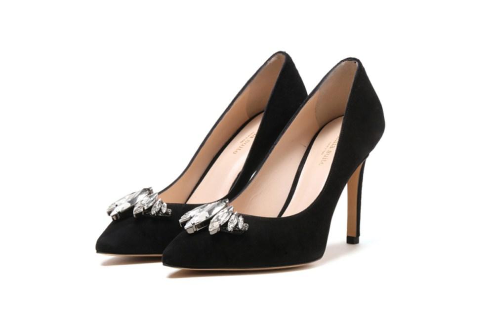 Venilla Suite Rhinestone Embellished Heels