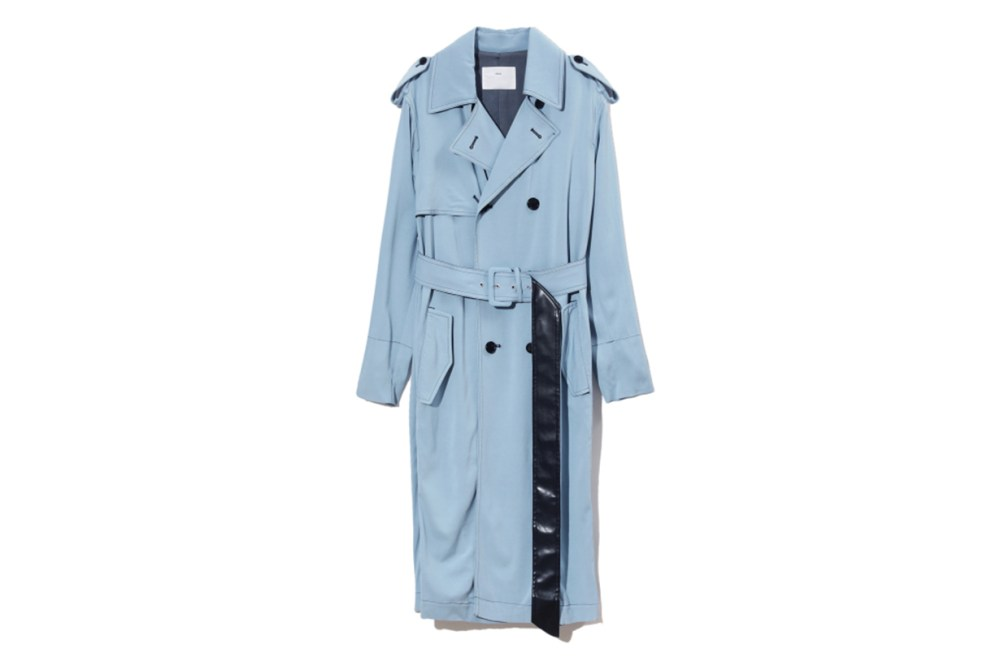 Toga Archives Boxy Double Breasted Trench Coat