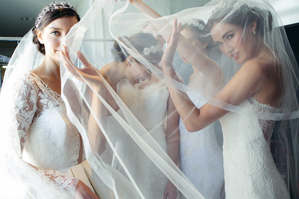 Pre-owned wedding dresses are growing in popularity as brides support sustainability