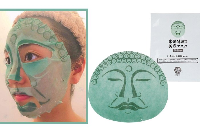 日本推「佛祖面膜」搞笑惹轟動!真 · 佛系美容讓妳更保濕