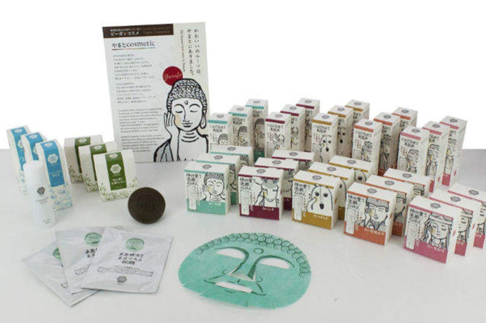 Buddha facial mask Japan 2019