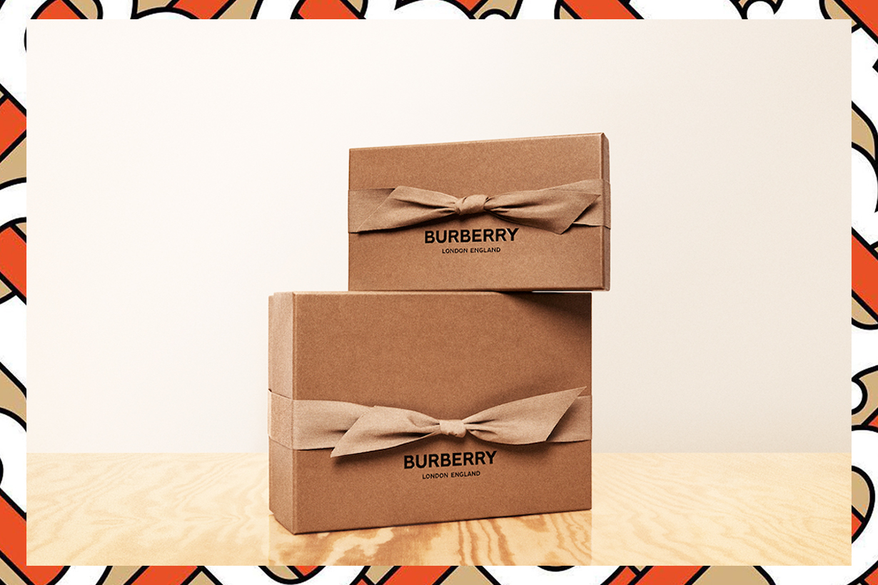 Burberry Riccardo Tisci changing logo Ellen MacArthur Foundation sustainability environmental friendly packaging