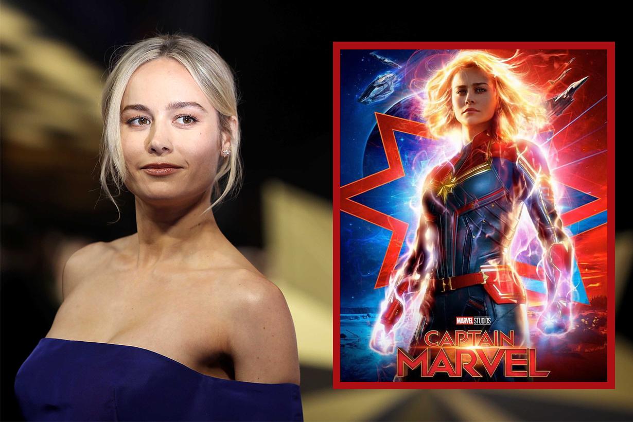 Brie Larson Captain Marvel workout