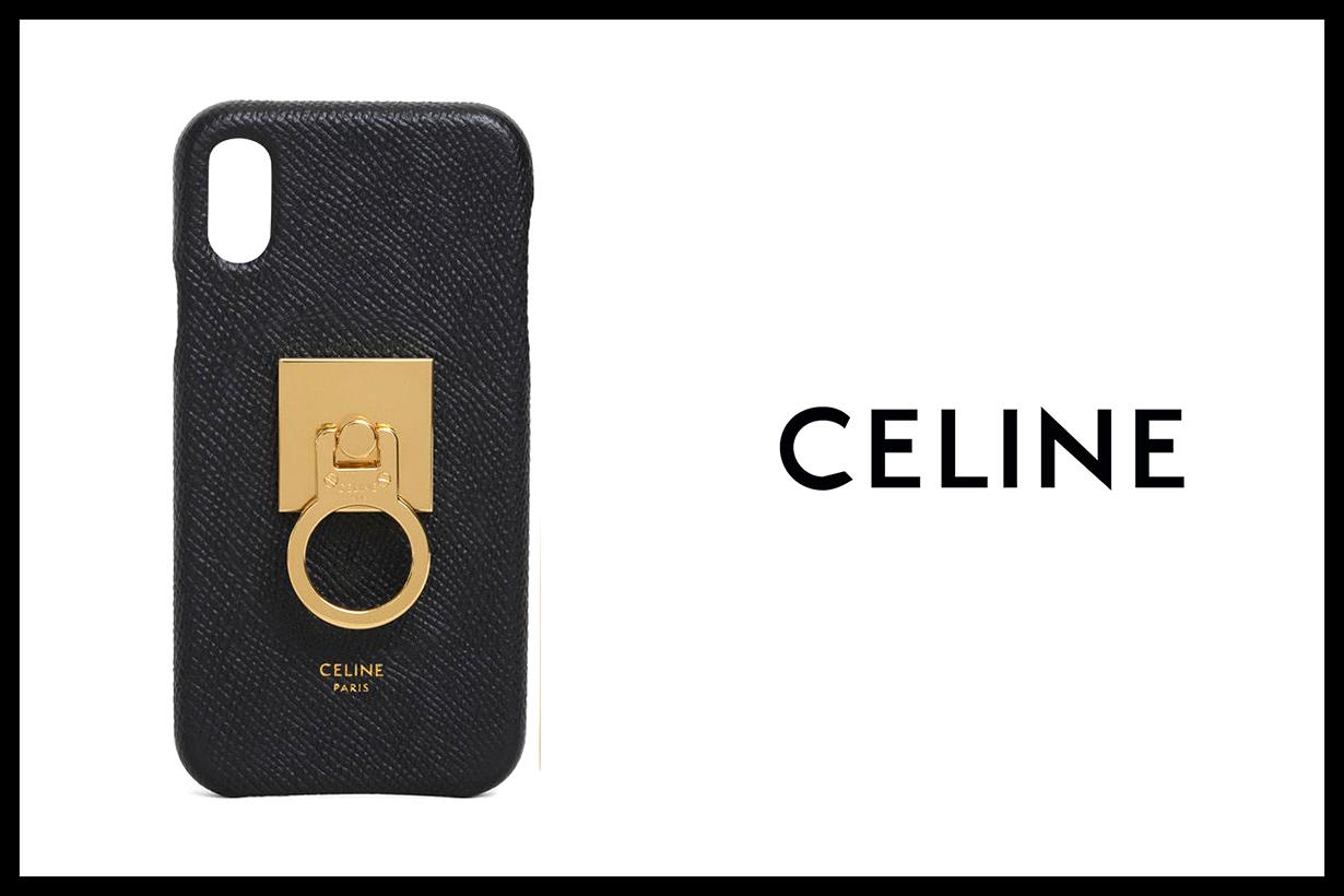 Celine Brass Phone Ring