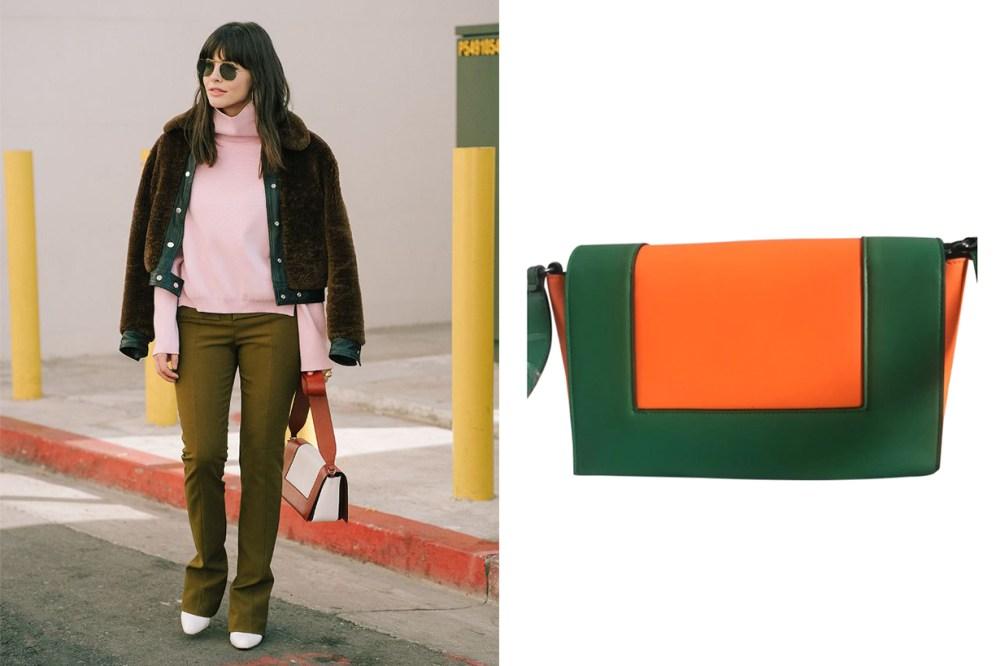 Celine Frame Leather Bag