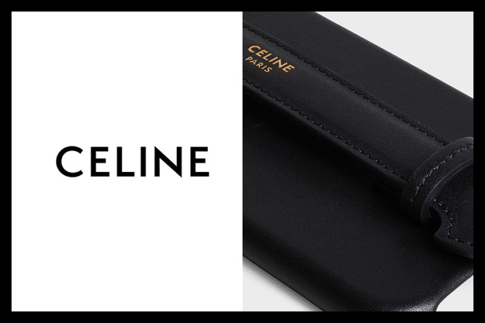 以極簡設計配合奢華細節,Celine 首次推出 iPhone Case!