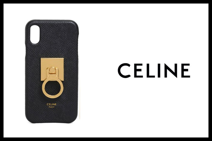 Celine 再來新意:竟推出手機扣環,簡潔設計卻極顯高級!
