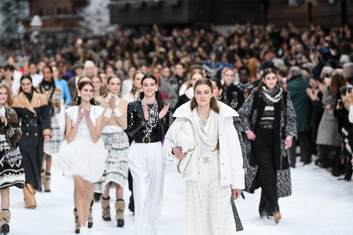Chanel Fall 2019 Show Paid Tribute to Karl Lagerfeld