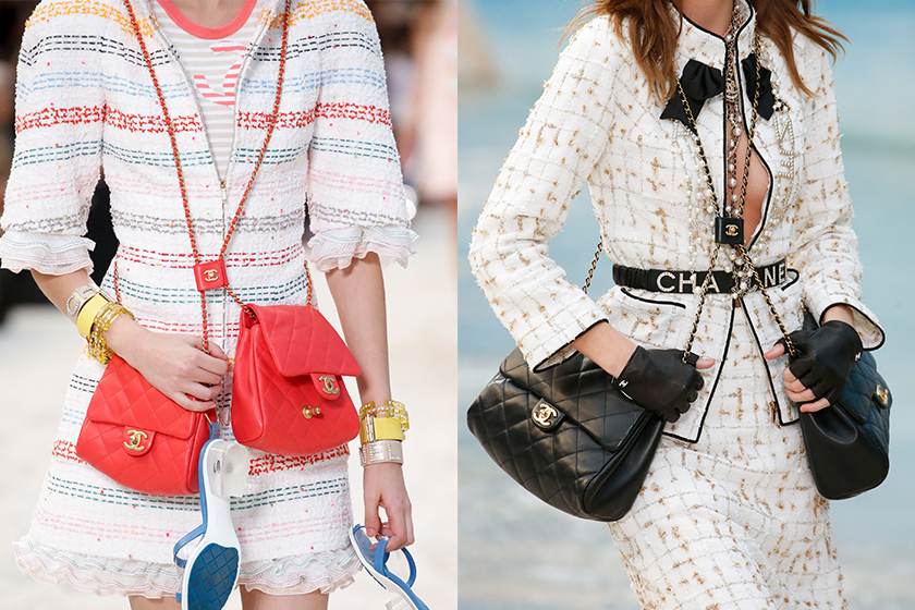 chanel side packs handbag ss19