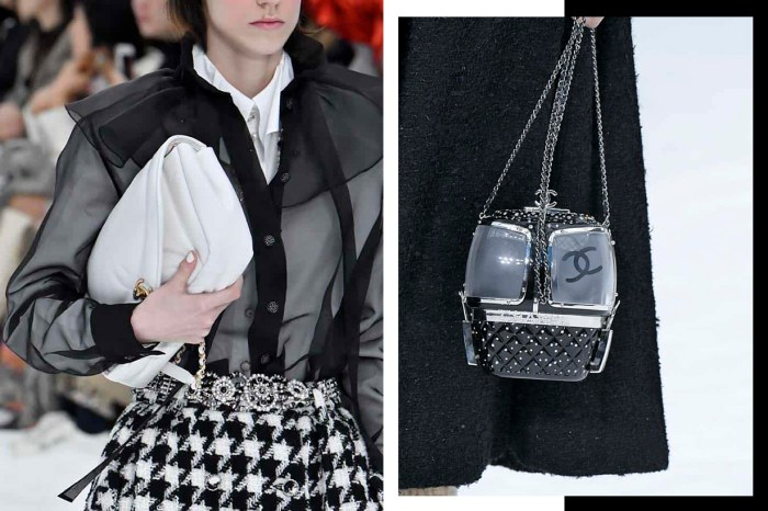 #PFW:老佛爺留下最唯美設計!近賞 Chanel 秋冬手袋、鞋履,每款都想收入秋冬衣櫥!
