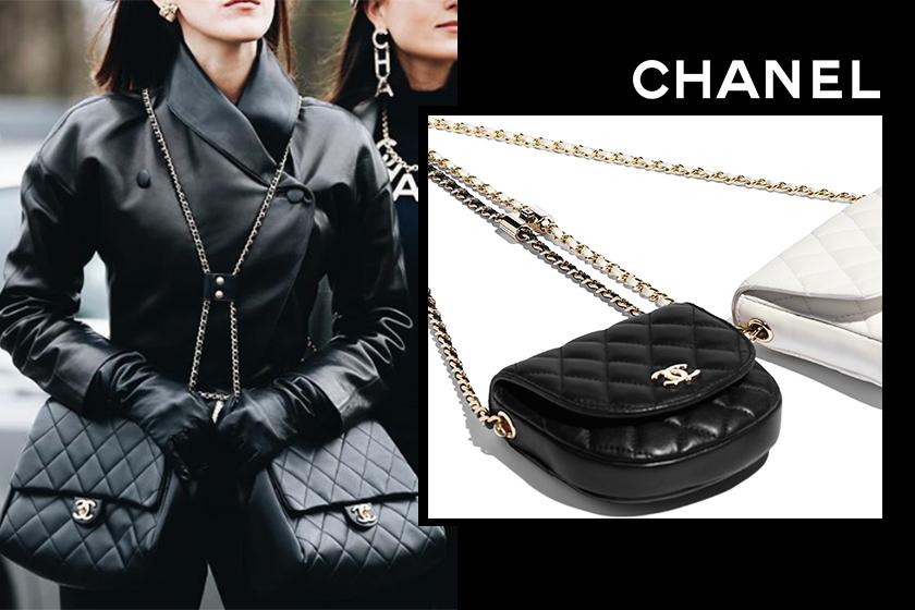 Chanel handbags Side-Packs SS19