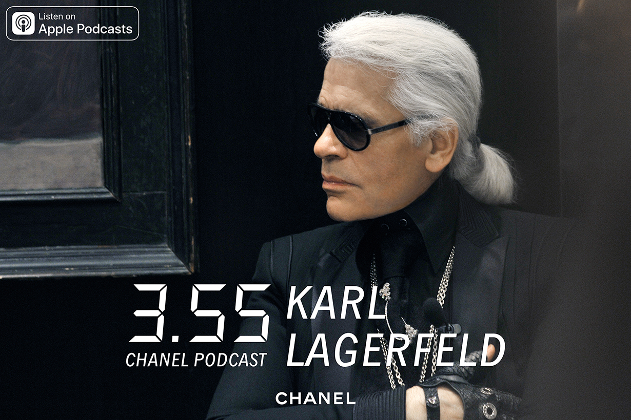 metiers dart collection podcast karl lagerfeld