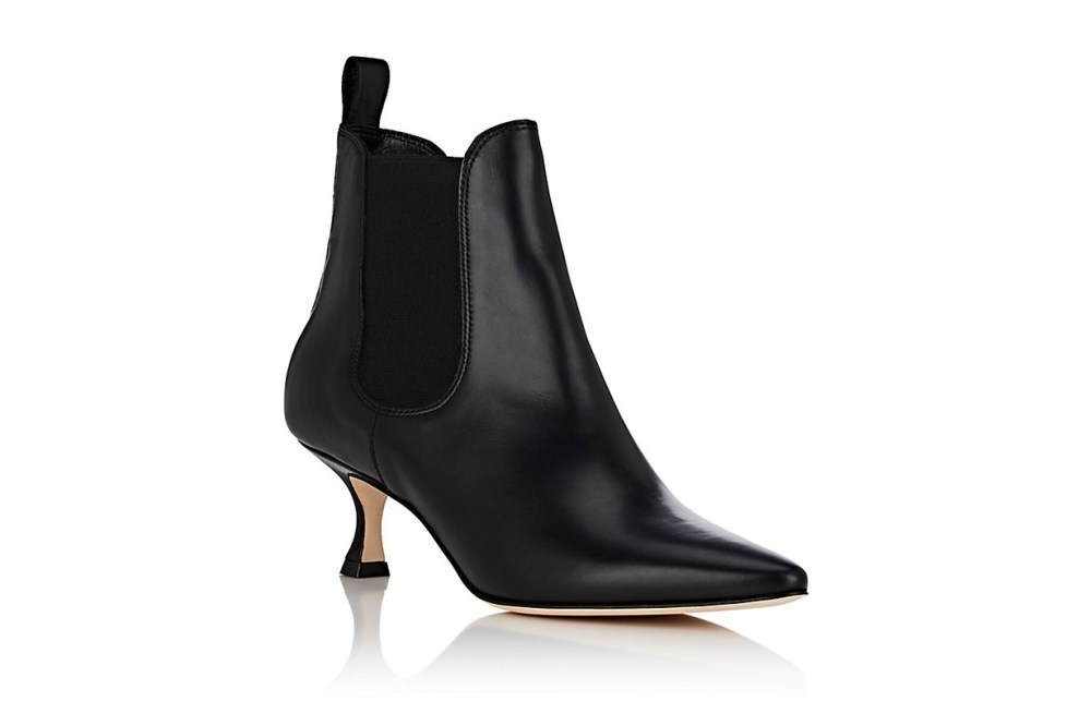 """Chelsa"" Leather Ankle Boots"