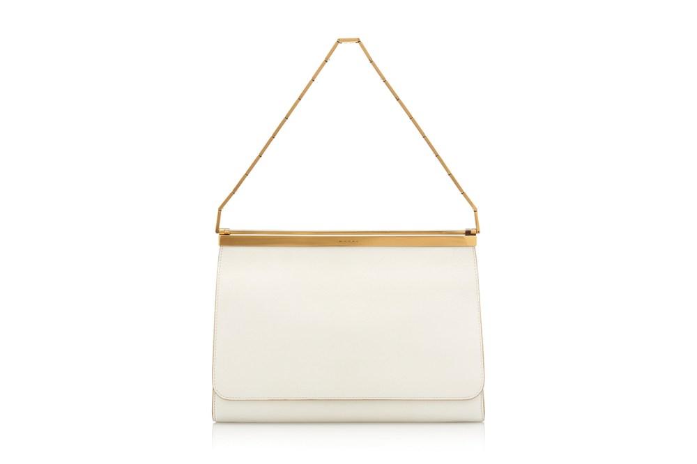 Marni Cachè Two-Tone Leather Bag