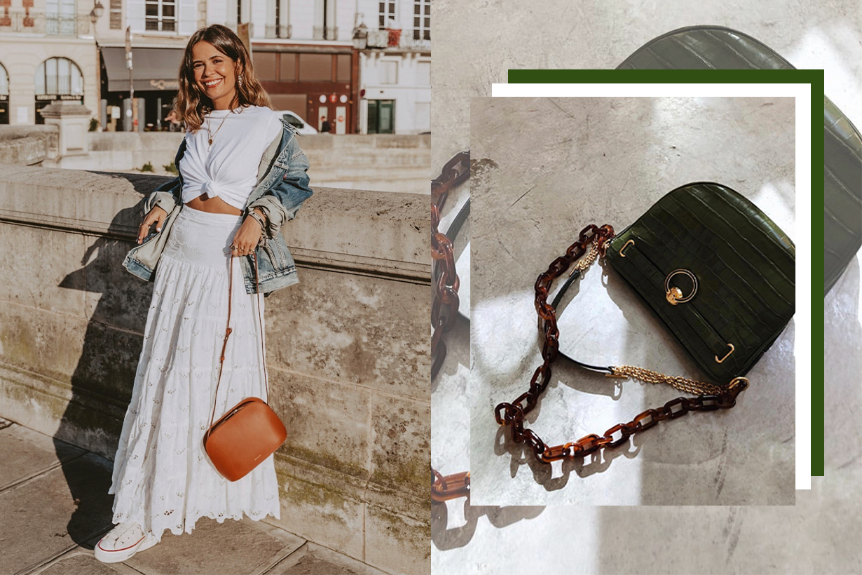 Crossbody bag is the best bag style to actually spend money on