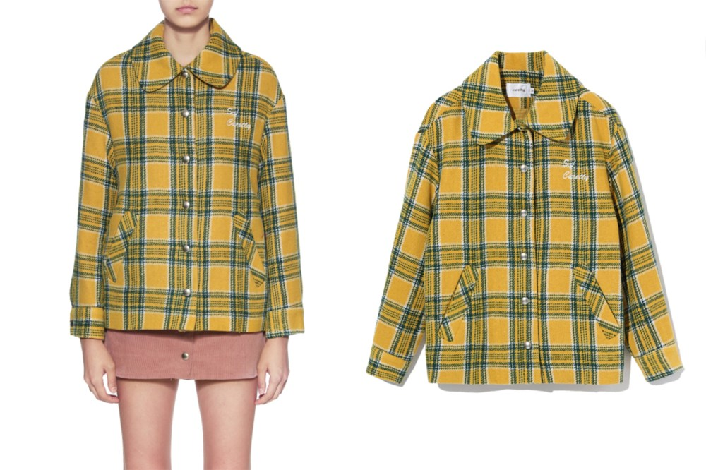 CURETTY Tartan Jacket
