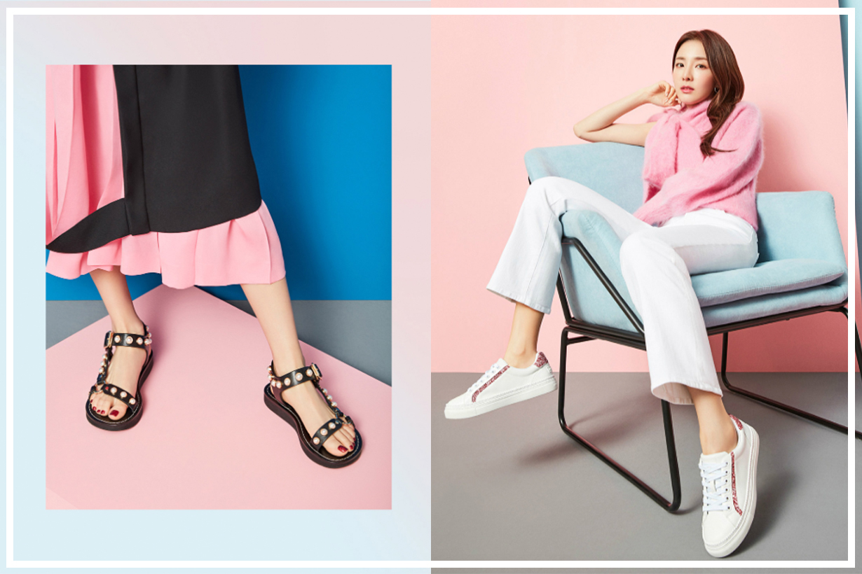 Dara X Suecomme Bonnie shoes can now be found on YOOX