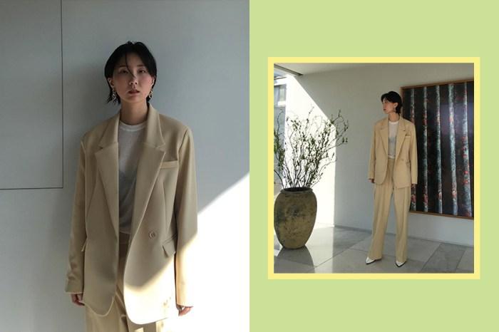 西裝外套靈感:跟這位韓國博主學淡雅穿搭,更能直接買到她身上的衣服!