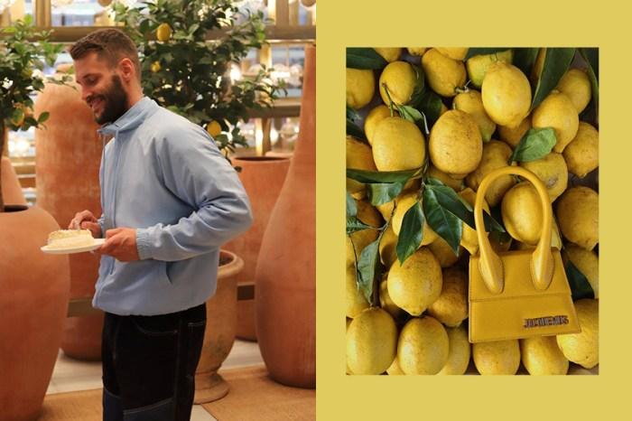 飄散淡淡檸檬香:在法國香榭大道上,Jacquemus 無預警開了一間超美咖啡店!