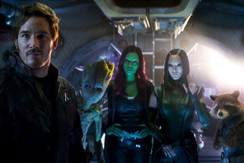 disney marvel rehire james gunn for guardians of the galaxy vol3