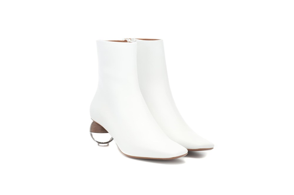 Neous Encyclia Leather Ankle Boots