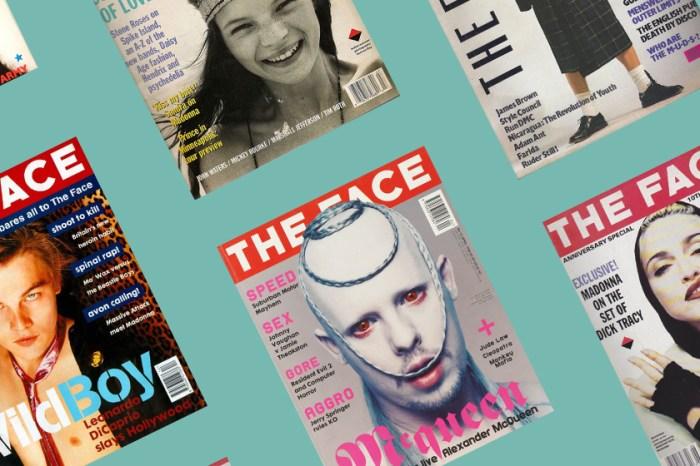 再現 Alexander McQueen 經典:英國傳奇雜誌《The Face》,相隔 15 年後即將再次復刊!