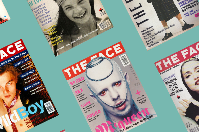 british magazine the face is back