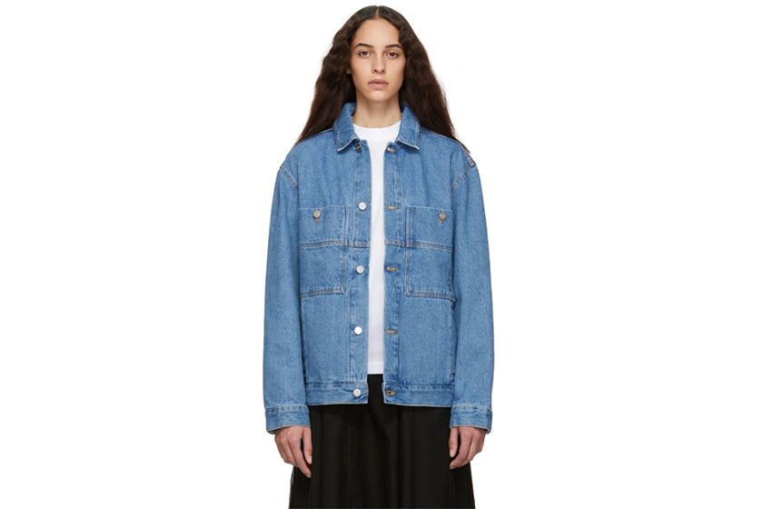 Études Blue Denim Guest Jacket