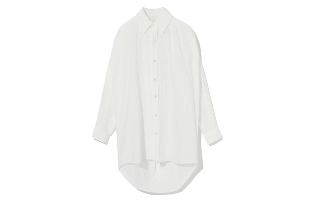 FACETASM Drop Hem Oversized Shirt