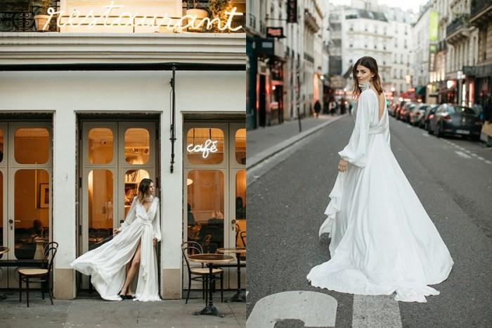 談婚禮這件事,英國婚紗設計師:「一件最完美的婚紗,就像赤著腳在灌木叢中奔跑!」