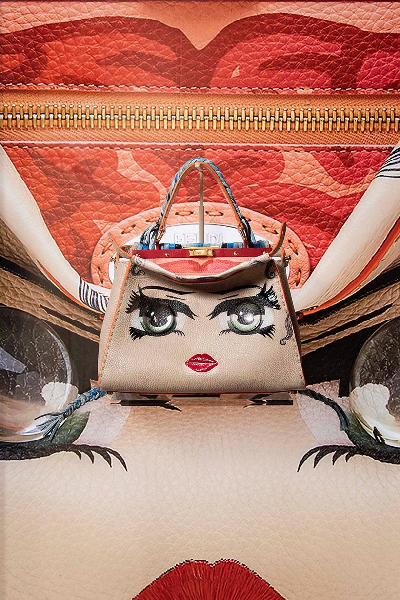 fendi peekaboo taipei exhibition designed handbags 101
