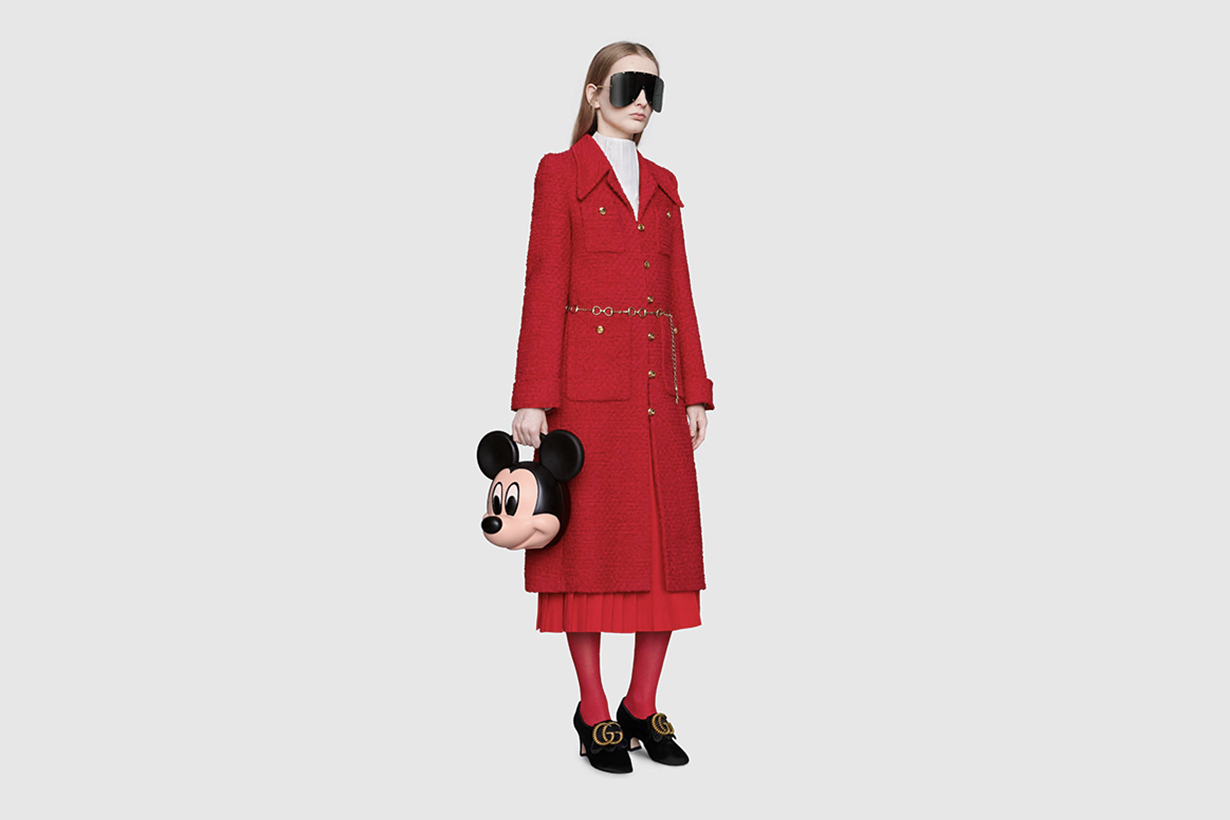 gucci Mickey Mouse handbags 2019ss collection