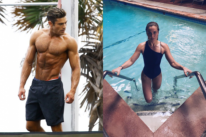 Zac Efron is dating Olympic swimmer Sarah Bro