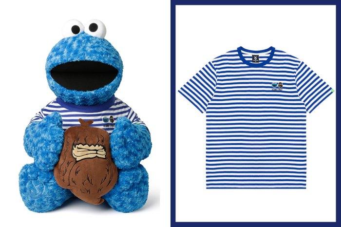 又一《芝麻街》聯乘!超想把穿橫間上衣的 Cookie Monster 抱回家